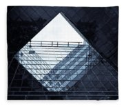 London Southbank Abstract Fleece Blanket
