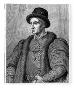 Louis Xi (1423-1483) Fleece Blanket