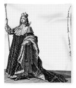 Louis Xv (1710-1774) Fleece Blanket