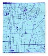Omega-minus Particle, First Observation Fleece Blanket