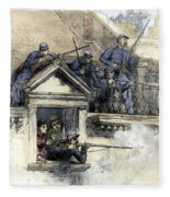 Paris Commune, 1871 Fleece Blanket