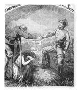 Presidential Campaign, 1864 Fleece Blanket