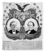 Presidential Campaign, 1876 Fleece Blanket