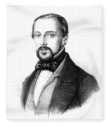Rudolph Virchow, German Polymath Fleece Blanket