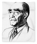 Rudyard Kipling (1865-1936) Fleece Blanket