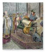 Saladin (1138-1193) Fleece Blanket