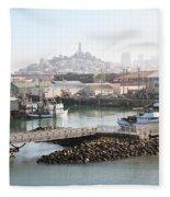 San Francisco Fleece Blanket