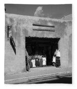 Santa Fe Shops Fleece Blanket