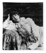 Sarah Bernhardt Fleece Blanket