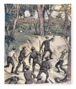 Spanish-american War, 1898 Fleece Blanket