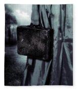 Suitcase Fleece Blanket