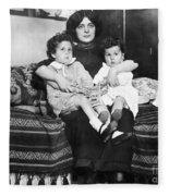 Titanic: Survivors, 1912 Fleece Blanket