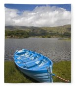 Upper Lake, Killarney National Park Fleece Blanket