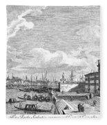 Venice: Grand Canal, 1742 Fleece Blanket