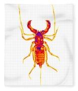 Whipscorpion X-ray Fleece Blanket
