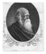 William Cullen Bryant Fleece Blanket