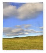 Wind Turbine Fleece Blanket