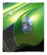 40 Ford - Front Driver Angle-8665 Fleece Blanket