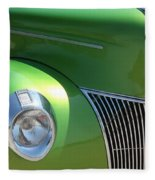 40 Ford - Front Pass Angle-8651 Fleece Blanket