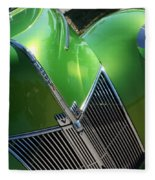40 Ford - Grill Angle-8659 Fleece Blanket