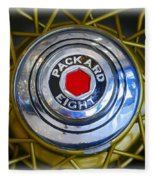 41 Packard Wheel Fleece Blanket