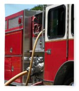 Barnett Fire Fleece Blanket