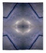 Abstract Ice Fleece Blanket