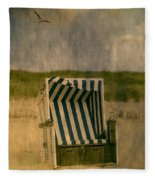 Beach Chair Fleece Blanket