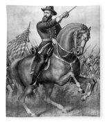 Benjamin Harrison Fleece Blanket