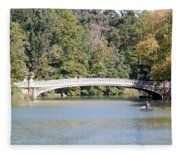 Bow Bridge Fleece Blanket
