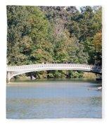 Bow Bridge Fleece Blanket