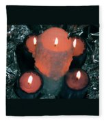 Candle Light Fleece Blanket