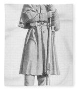 Civil War: Soldier Fleece Blanket
