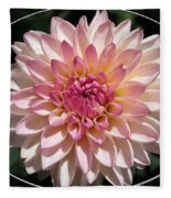 Dahlia Named Valley Porcupine Fleece Blanket