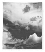 English Summer Sky Fleece Blanket