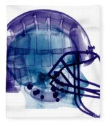 Football Helmet, X-ray Fleece Blanket