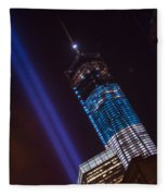 Ground Zero Freedom Tower Fleece Blanket