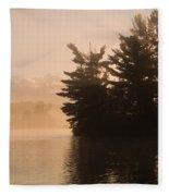 Lake Of The Woods, Ontario, Canada Fleece Blanket