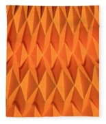 Mathematical Origami Fleece Blanket