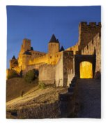 Medieval Carcassonne Fleece Blanket