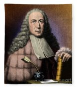 Morgagni, Italian Anatomist Fleece Blanket