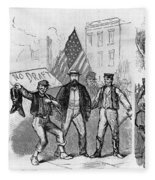 New York: Draft Riots, 1863 Fleece Blanket