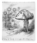 Oscar Wilde (1854-1900) Fleece Blanket