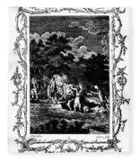 Plague Of London, 1665 Fleece Blanket