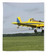 Plane Fleece Blanket