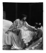 Sarah Bernhardt (1844-1923) Fleece Blanket
