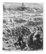Seven Days Battles, 1862 Fleece Blanket