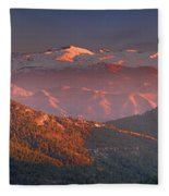Sierra Nevada Fleece Blanket