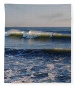 Surfers Make The Ocean Better Series Fleece Blanket