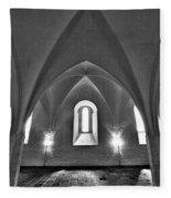 The Castle Of Tavastehus Fleece Blanket